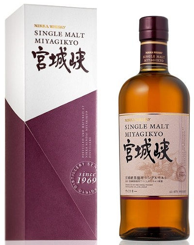 Nikka - Miyagikyo Single Malt Japanese Whisky