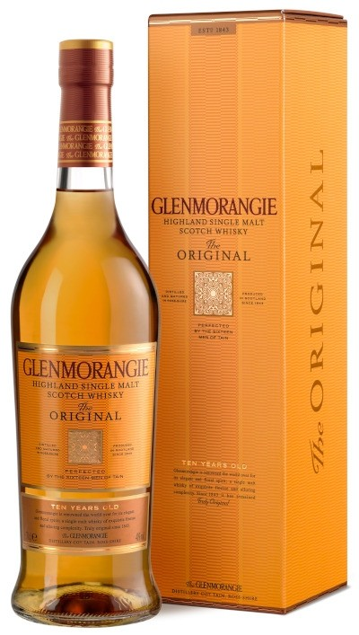 Glenmorangie - 10 years The Original Highland Single Malt Scotch Whisky