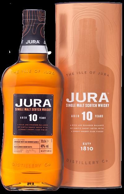 Isle Of Jura - 10 years Jura Single Malt Scotch Whisky
