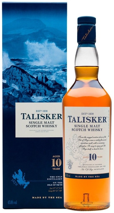 Talisker - 10 years Isle of Skye Single Malt Scotch Whisky