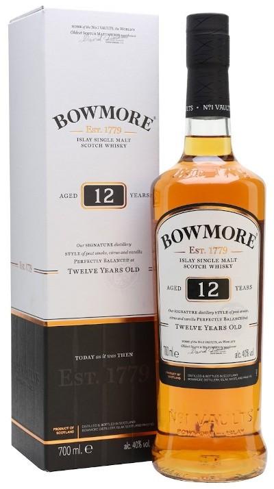 Bowmore - 12 years Islay Single Malt Scotch Whisky