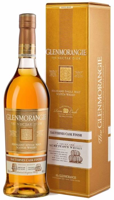Glenmorangie - 12 years Nectar d'Or Highland Single Malt Scotch Whisky im Geschenkkarton