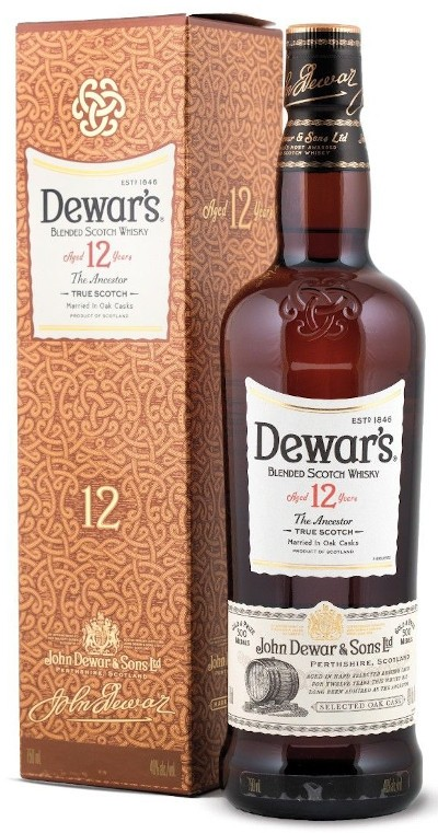Dewar's - 12 years Special Reserve Blended Scotch Whisky