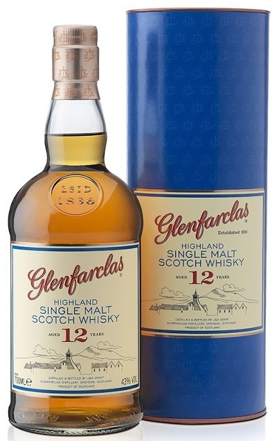 Glenfarclas - 12 years Highland Single Malt Scotch Whisky