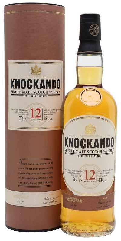 Knockando - 12 years Speyside Single Malt Scotch Whisky