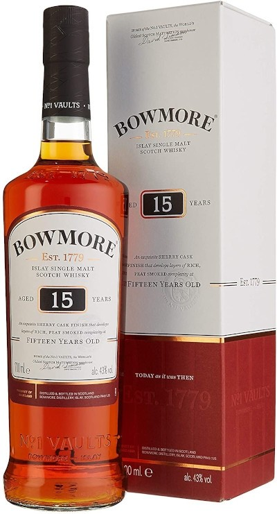 Bowmore - 15 years Darkest Islay Single Malt Scotch Whisky