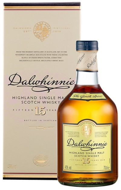 Dalwhinnie - 15 years Highland Single Malt Scotch Whisky