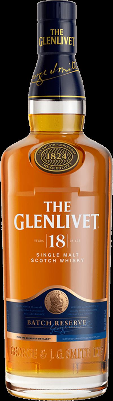 Glenlivet - 18 years Speyside Single Malt Scotch Whisky
