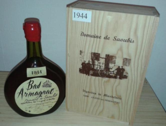 Domaine de Saoubis - Bas Armagnac, 1953