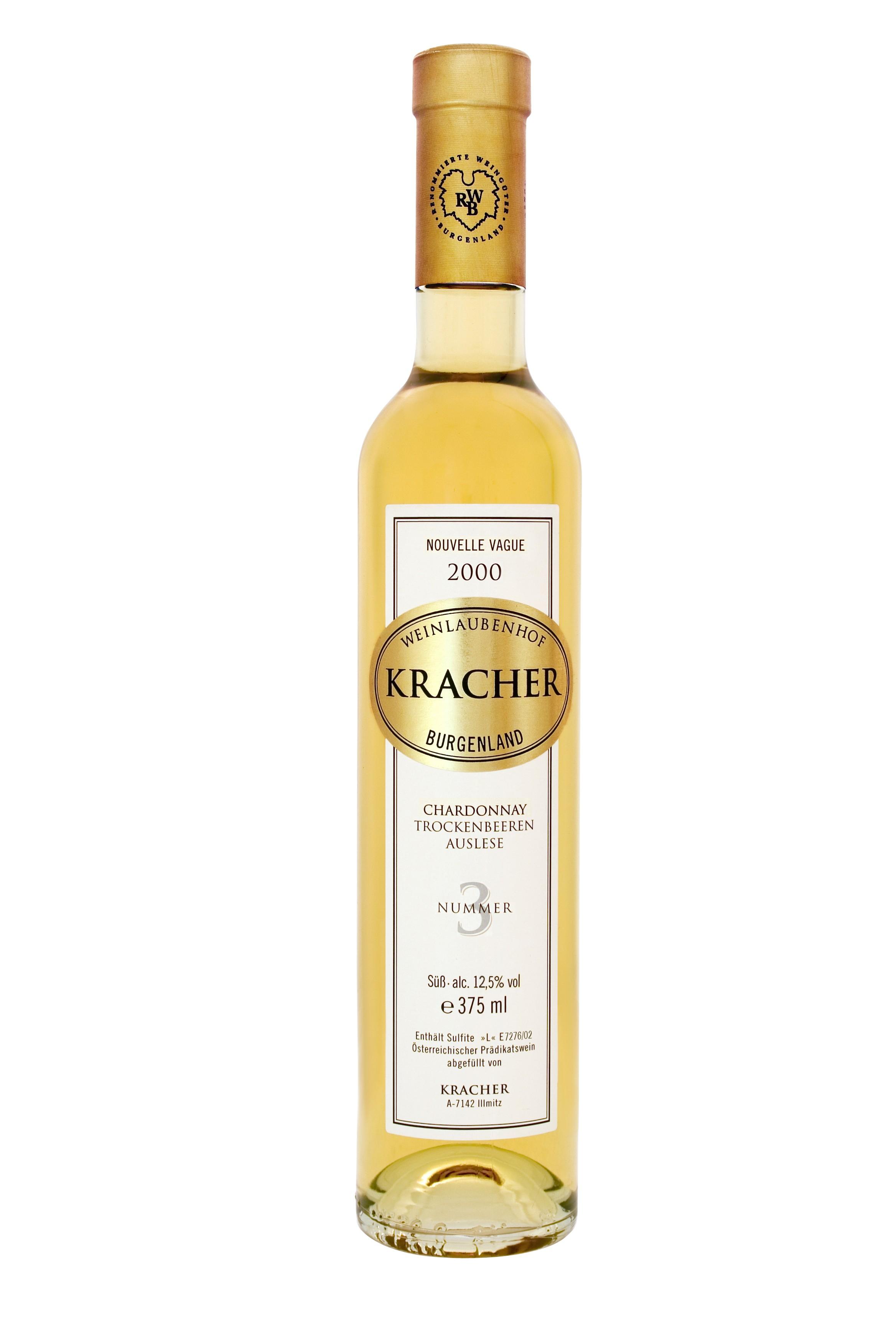 Kracher - Rarität Chardonnay Nr. 3 Trockenbeerenauslese, 2000