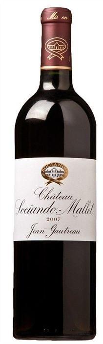 CHÂTeau Sociando-Mallet - Cru Bourgeois Halbflasche, 2007
