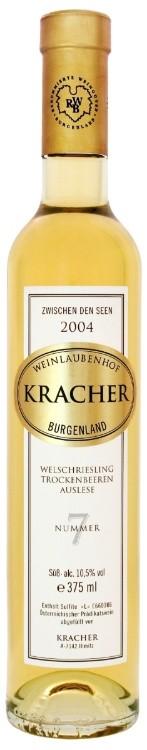 Kracher - Welschriesling Nr. 7 Zwischen den Seen Trockenbeerenauslese, 2004