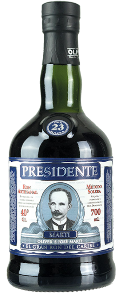 Presidente Marti - 23 years Rum