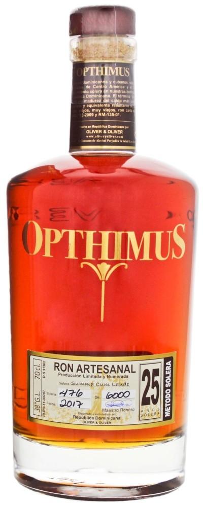 Opthimus - 25 years Rum