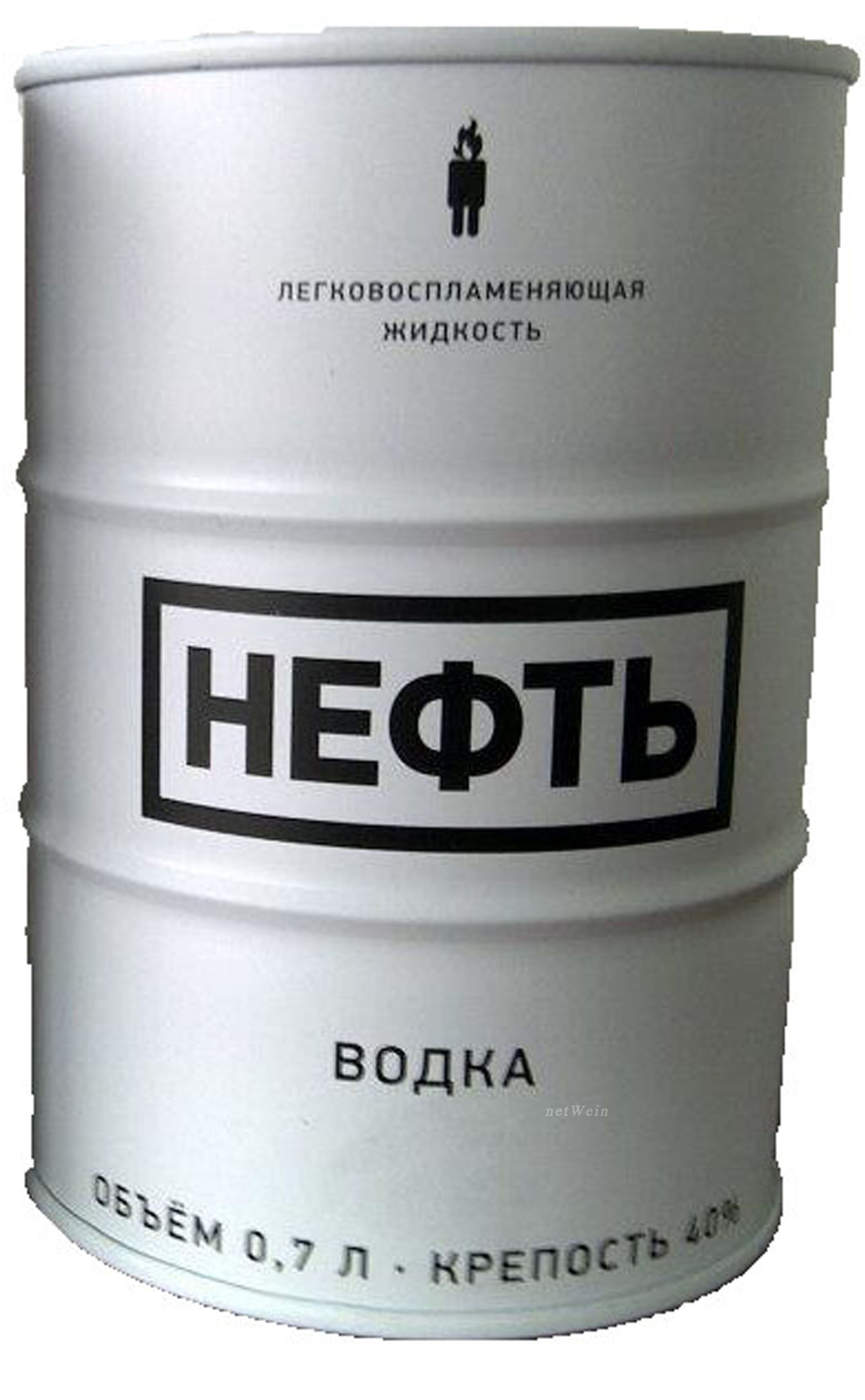 Neft - White Barrel Vodka