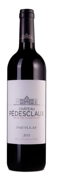 Chateau Pedesclaux - 5.Grand Cru Classe, 2015