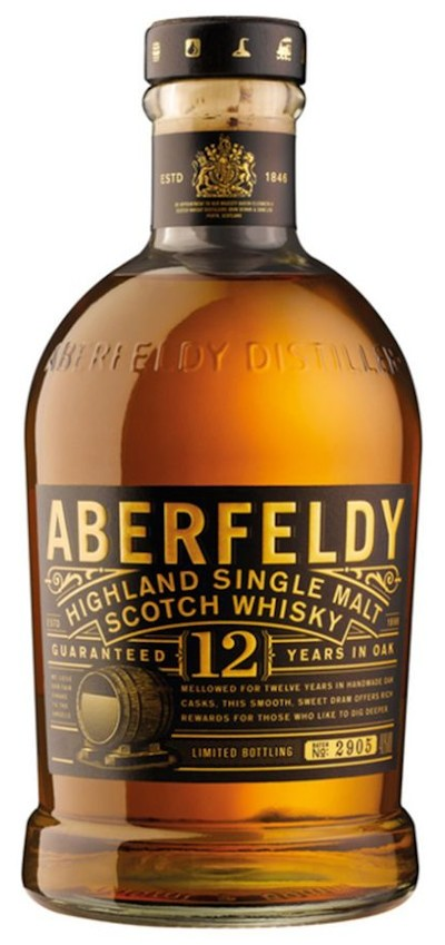 Aberfeldy - 12 years Highland Single Malt Scotch Whisky