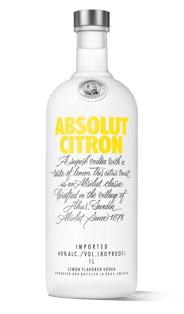 Absolut - Citron Flavoured Vodka