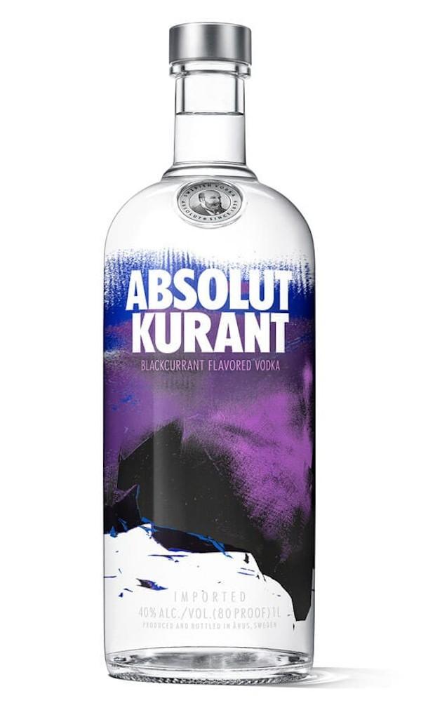 Absolut - Kurant Flavoured Vodka