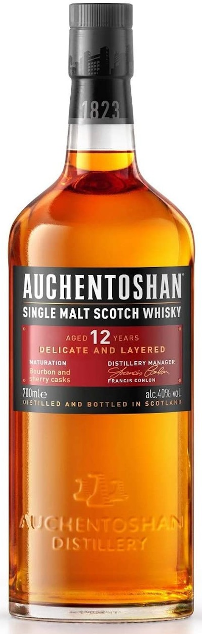 Auchentoshan - 12 years Lowland Single Malt Scotch Whisky