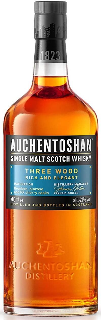 Auchentoshan - Three Wood Lowland Single Malt Scotch Whisky