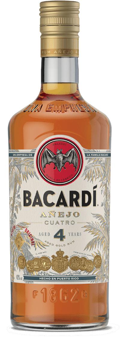 Bacardi - Anejo Cuatro 4 years