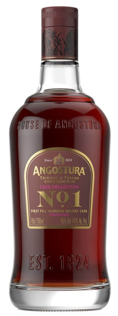 Angostura - No 1 3rd Edition Fill Sherry Cask Finish Premium Rum