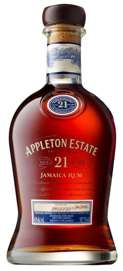 Appleton Estate - 21 years Rum