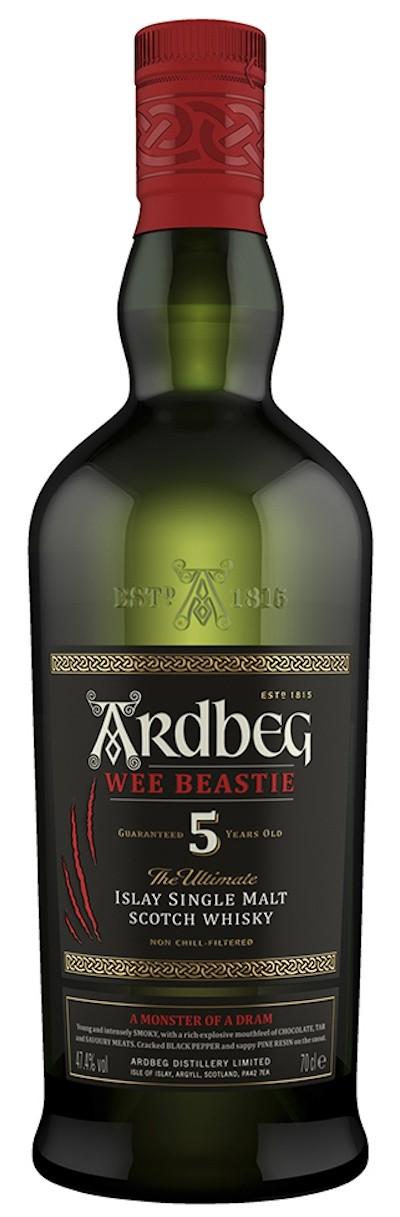 Ardbeg - Wee Beastie 5 Years Old Islay Single Malt Scotch