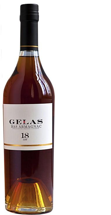 B. Gelas & Fils - Bas Armagnac 18 years 0,7 l