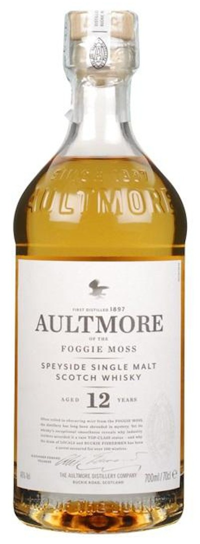 Aultmore - 12 Year Old Single Malt Scotch Whisky