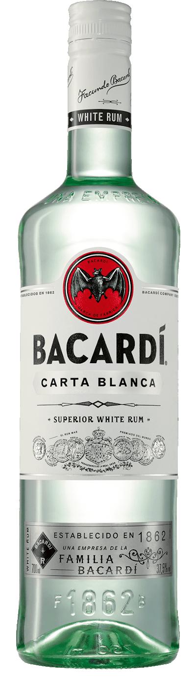 Bacardi - Carta Blanca Rum Großflasche