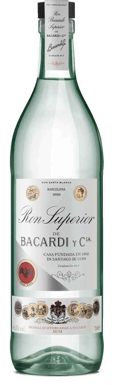 Bacardi - Ron Superior 44,5%