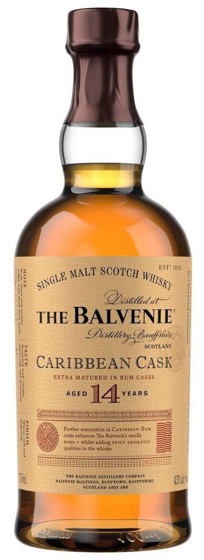 Balvenie - 14 Year Old Single Malt Scotch Whisky Caribbean Cask