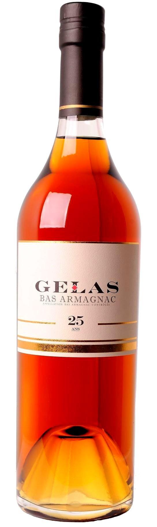 B. Gelas & Fils - Bas Armagnac 25 years 0,7 l