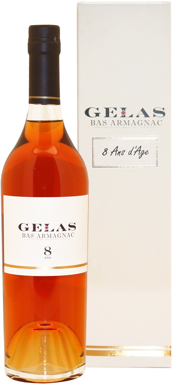 B. Gelas & Fils - Bas Armagnac 8 years 0,7 l
