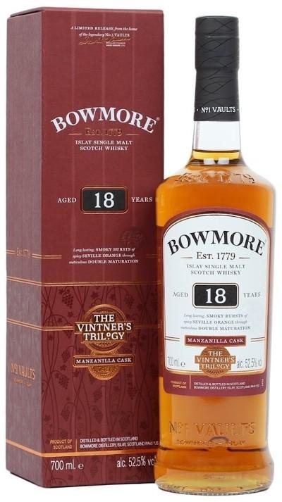 Bowmore - Rarität 18 years Manzanilla Cask Islay Single Malt Scotch Whisky
