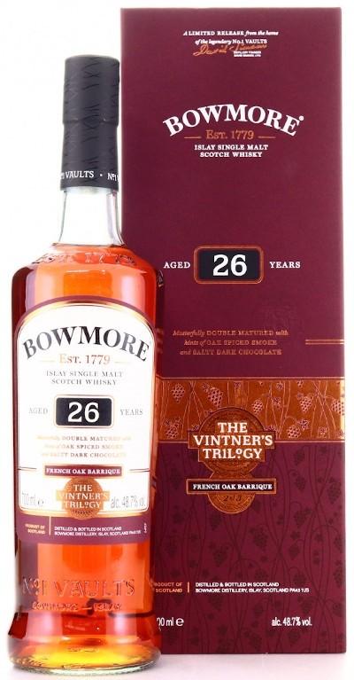 Bowmore - Rarität 26 years Wine Barrique Cask Islay Single Malt Scotch Whisky