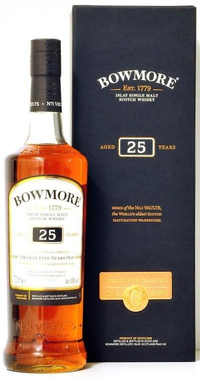 Bowmore - 25 years Islay Single Malt Scotch Whisky