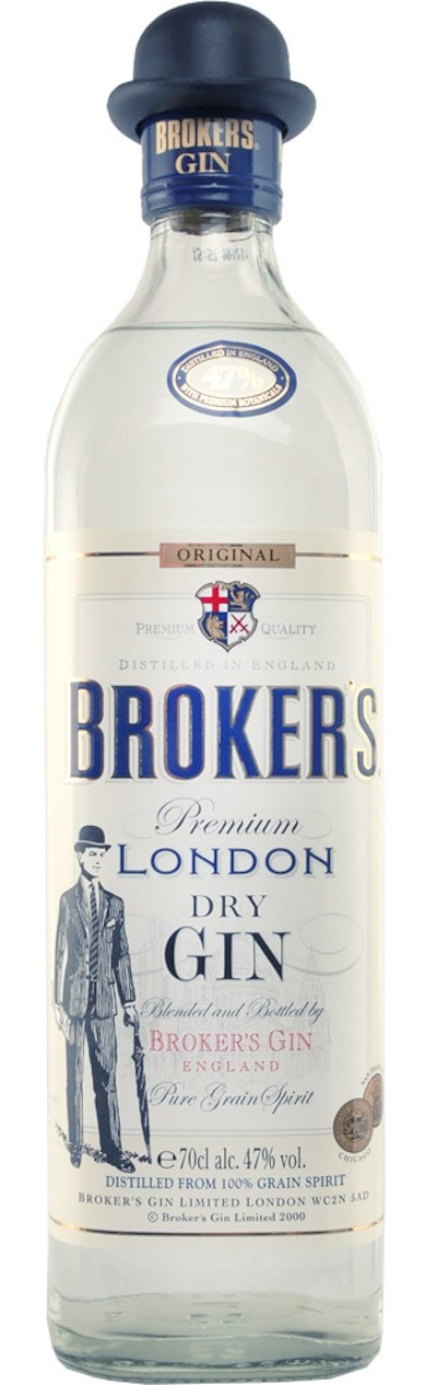 Broker's - London Dry Gin 47%