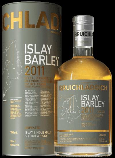 Bruichladdich - Islay Barley Islay Single Malt Scotch Whisky 2011 im Geschenkkarton