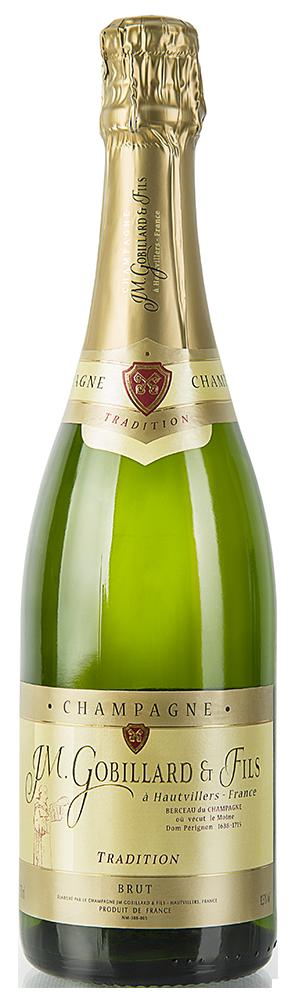 Gobillard & Fils - Brut Tradition Halbflasche
