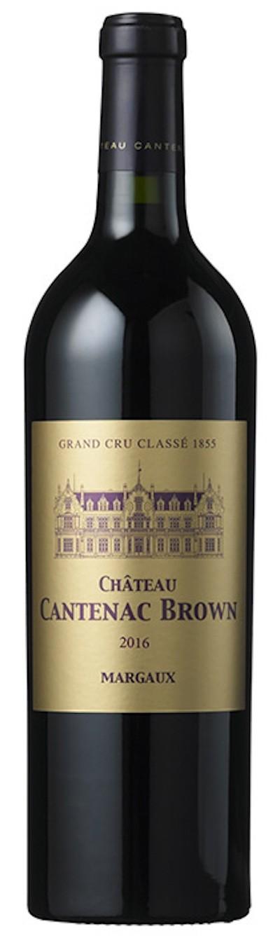 Chateau Cantenac Brown - Margaux 3. GCC, 2016