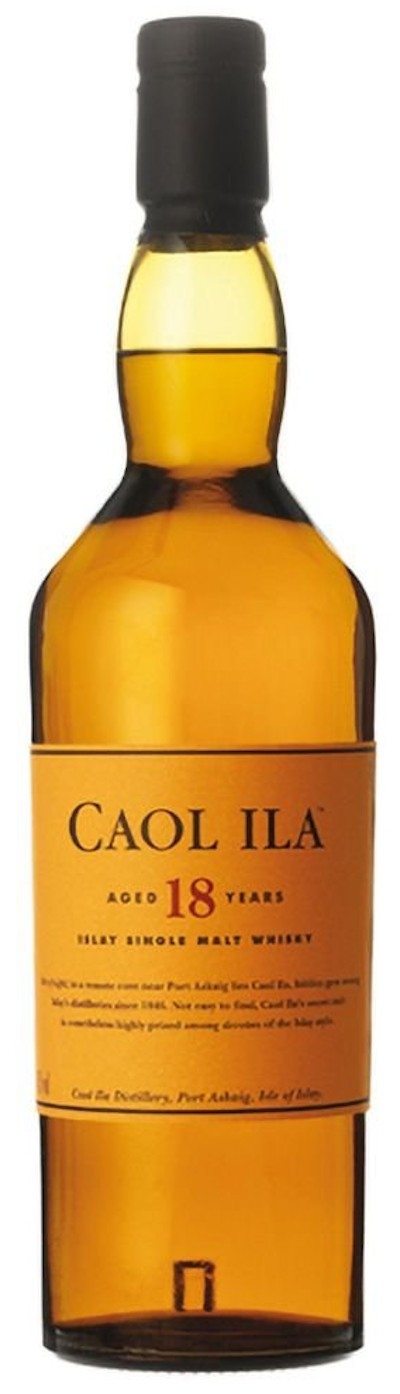 Caol Ila - 18 years Islay Single Malt Scotch Whisky