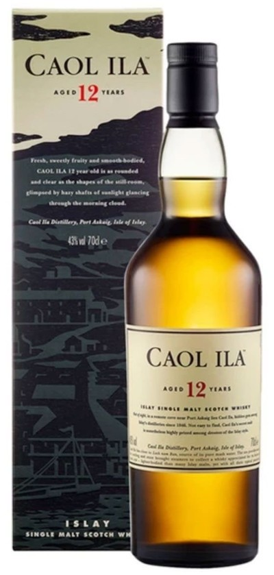 Caol Ila - 12 years Islay Single Malt Scotch Whisky
