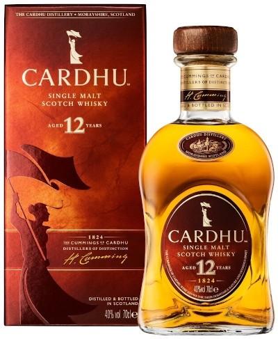 Cardhu - 12 years Speyside Single Malt Scotch Whisky