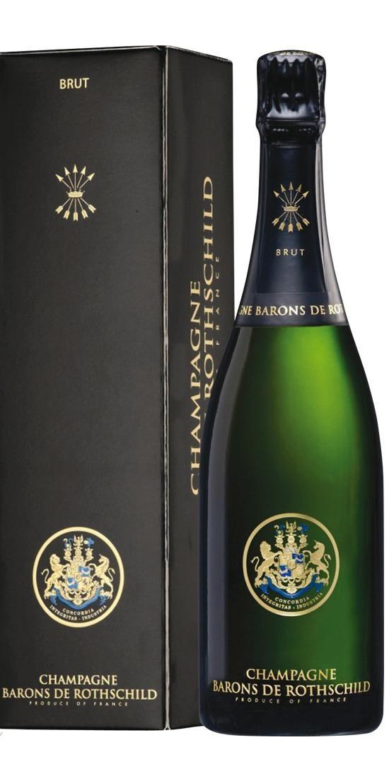 Barons De Rothschild - BrutChamp. In Geschenksetui
