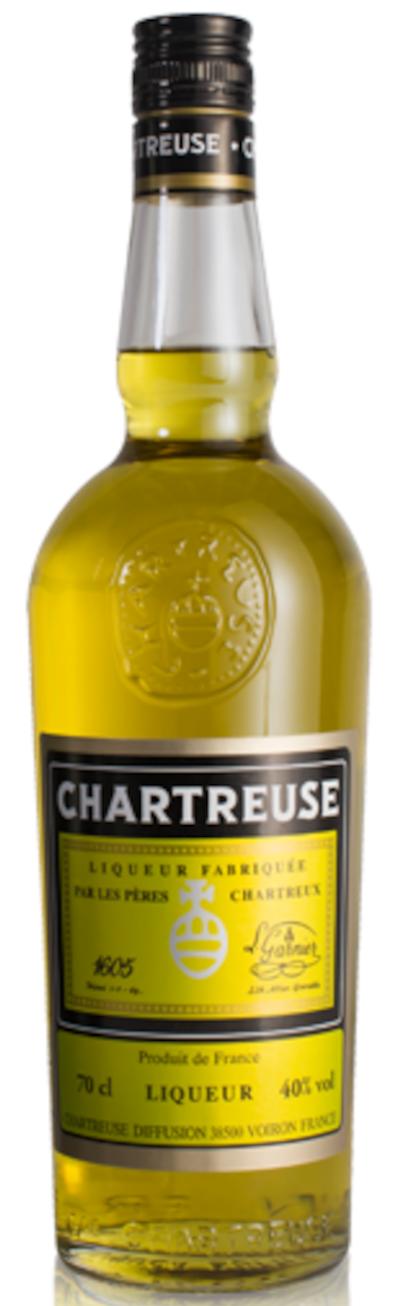 Chartreuse - Jaune Liqueur
