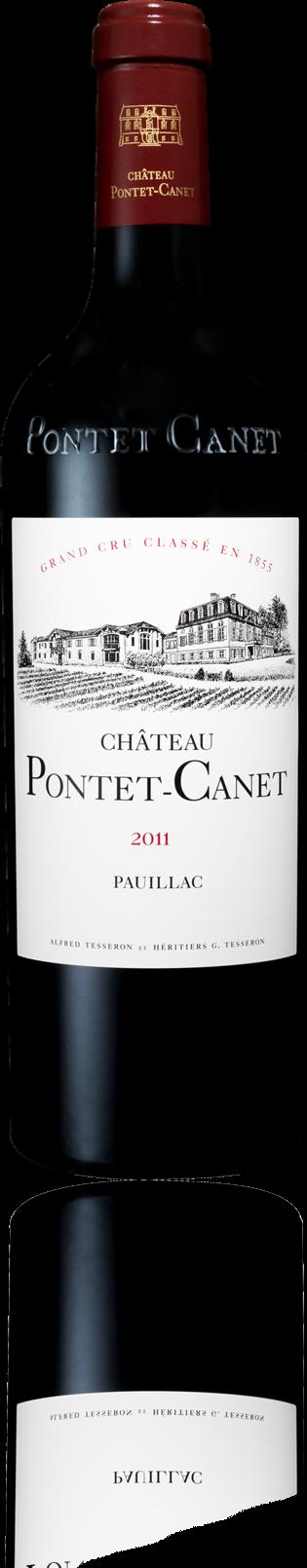 Chateau Pontet Canet - Pauillac 5CC., 2011
