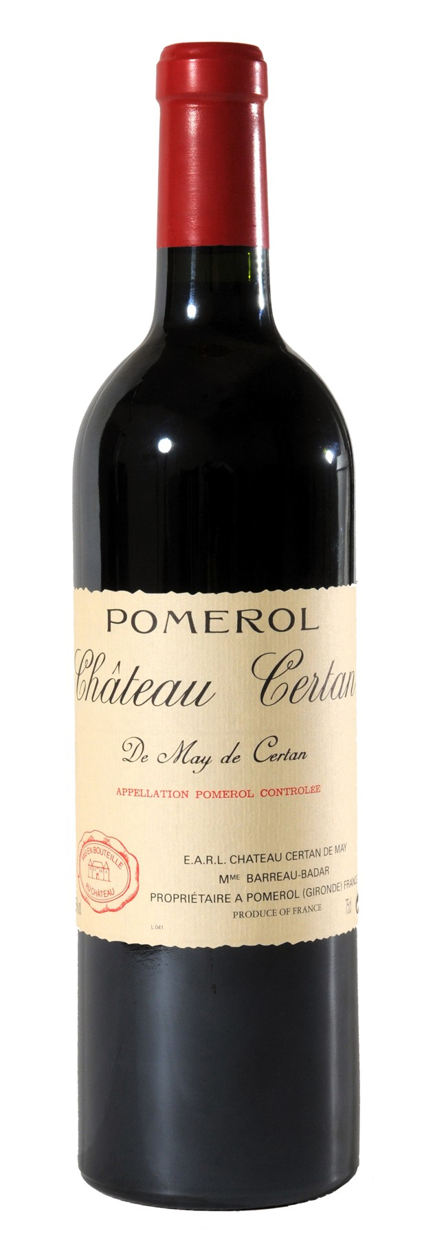 Chateau Certan de May - Magnum, 2011